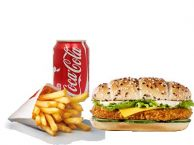 Honey Chicken Sandwich Menu